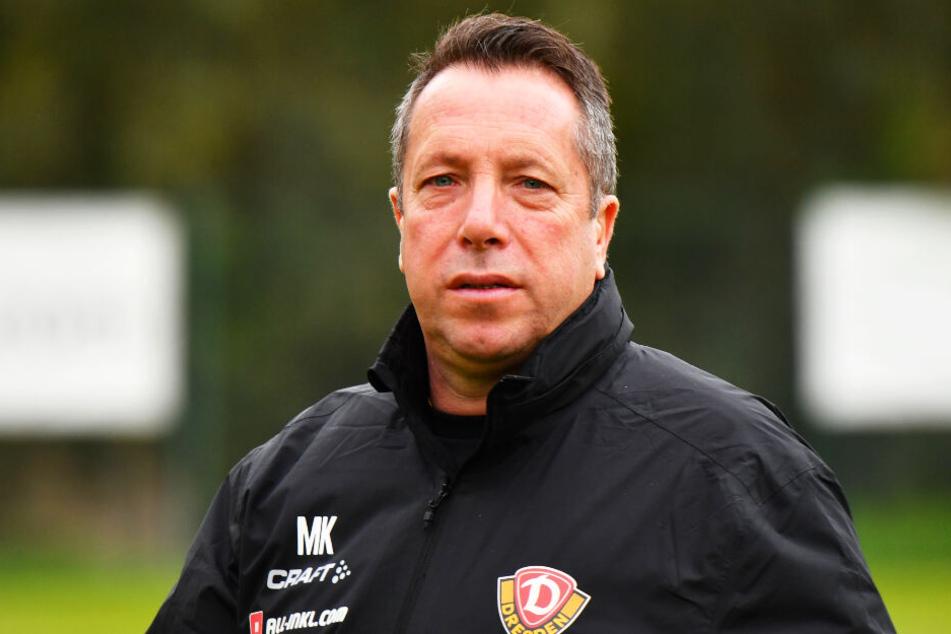 SGD-Coach Markus Kauczinski will gegen den VfB Stuttgart weitere Fortschritte seiner Mannschaft sehen.