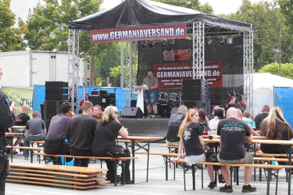 Jedes zweite rechtsextreme Konzert findet in Thüringen statt.