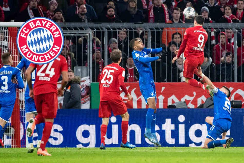 Torfestival! FC Bayern zittert sich nach klarer Führung gegen Hoffenheim eine Runde weiter
