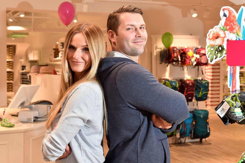 Inhaber Nicole und Michael Thum sind stolz auf ihre zweite Filiale in Dresden.