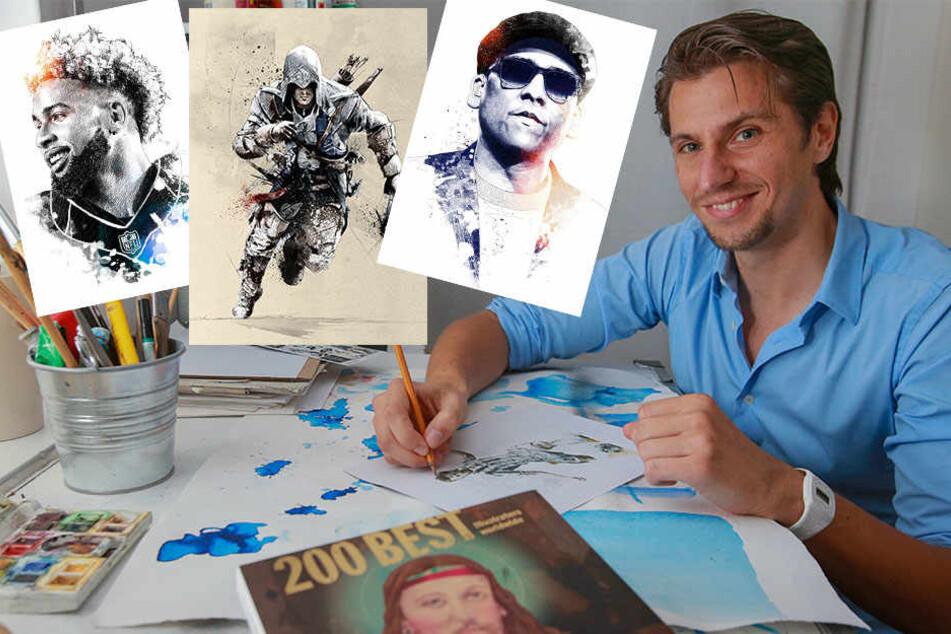 Dieser Bielefelder begeistert die ganze Welt mit seinen Illustrationen