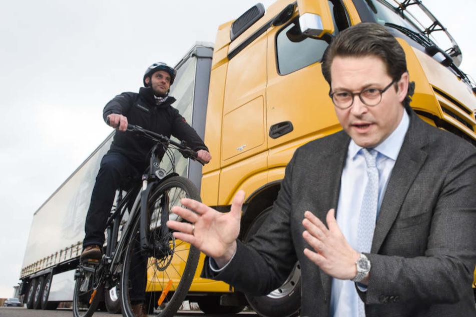 Verkehrsminister Scheuer gibt Gas! Abbiegeassistent für Brummis soll kommen