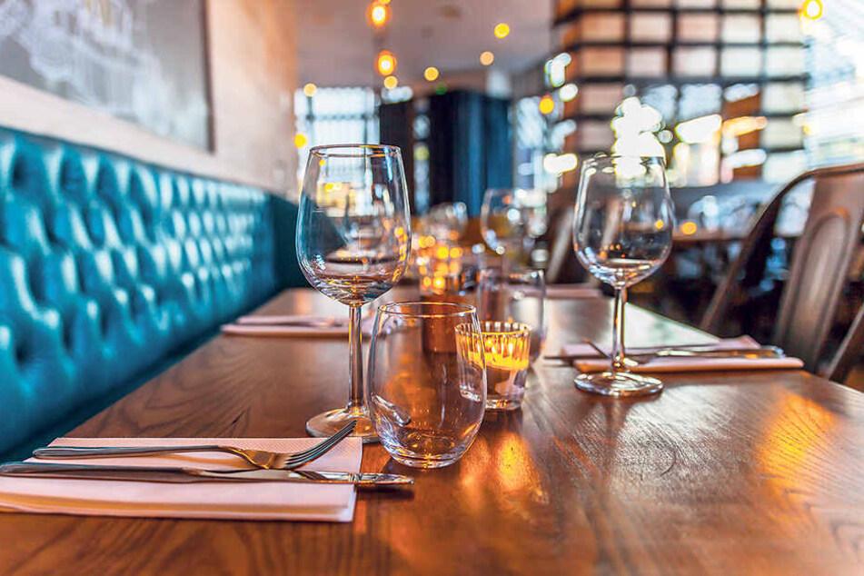 Gähnende Leere: Im Januar warten viele Restaurants vergebens auf Kundschaft.