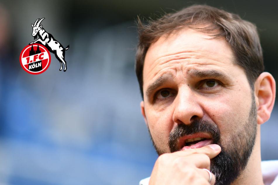 Kölns Trainer Stefan Ruthenbeck.