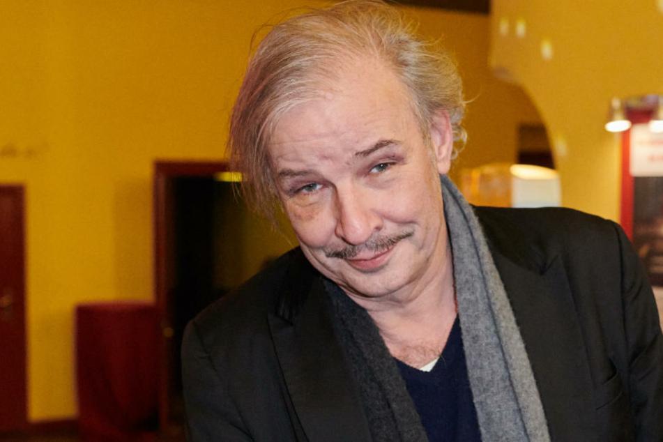 Der Regisseur Leander Haußmann kommt zur Verleihung des Ernst-Lubitsch-Preises.