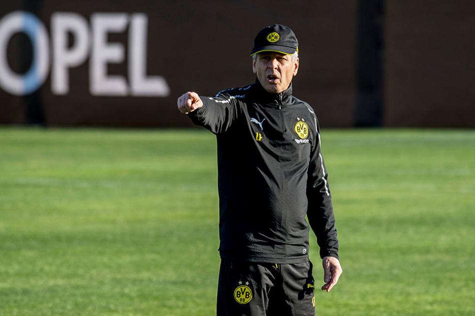 Du kommst zu mir! BVB-Coach Lucien Favre kann sich über eine dringend benötigte Verstärkung in der verletzungsgeplagten Defensive freuen.