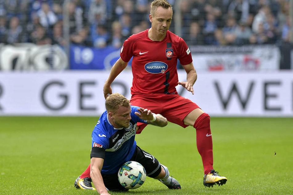Ex-Armine Arne Feick (29) sprach nach dem DSC-Spiel von einer sehr ausgeglichenen Liga.