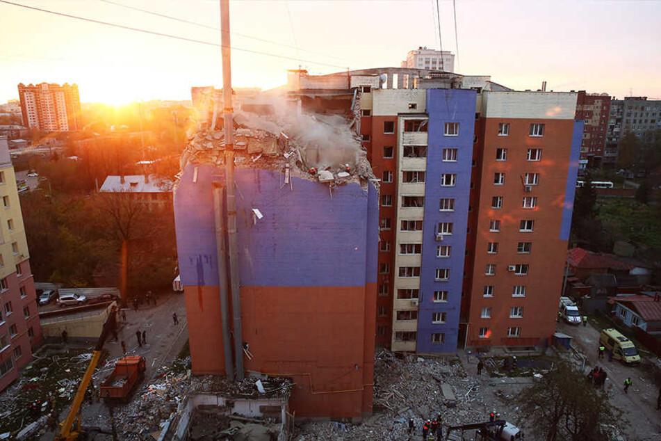 In Russland kam es zu zwei Gasexplosionen.
