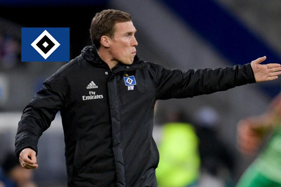 Trainer Wolf sieht den HSV in einem tiefen Leistungstal