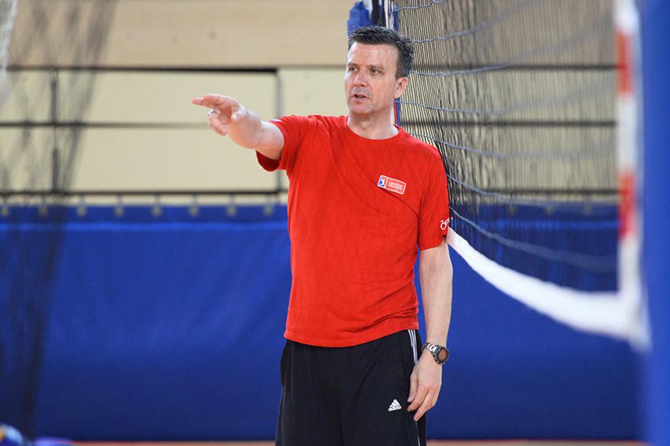 DSC-Coach Alexander Waibl ist nicht länger tschechischer Volleyball-Nationaltrainer.