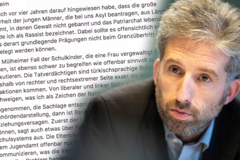 Kinder vergewaltigen junge Frau: Boris Palmer äußert sich und macht Nutzer wütend!
