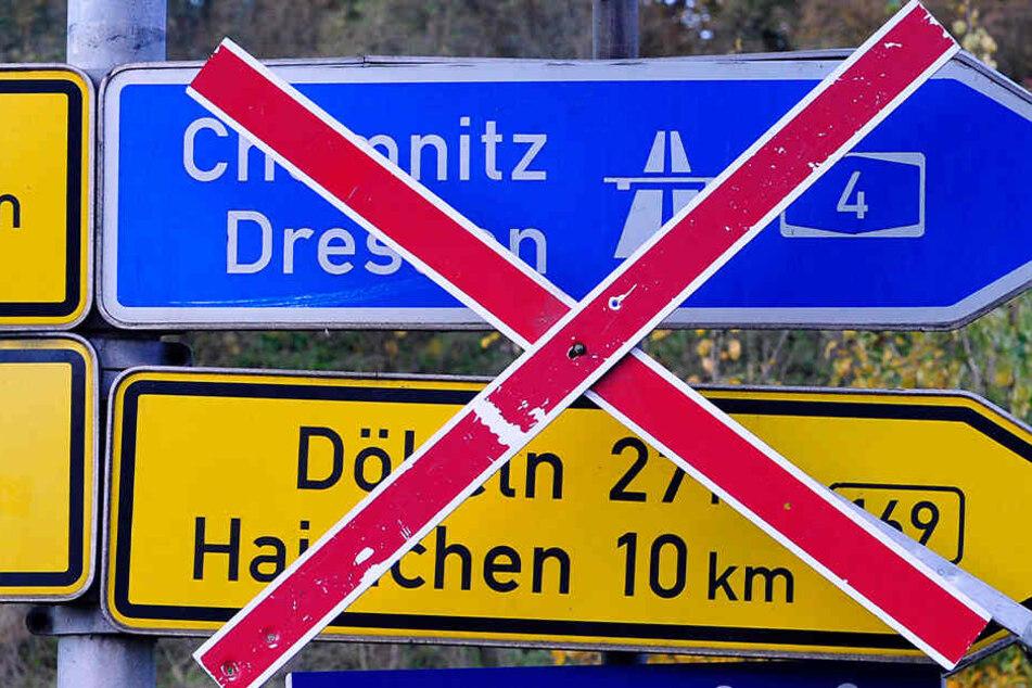 Chemnitz: A4-Anschlussstelle drei Tage dicht