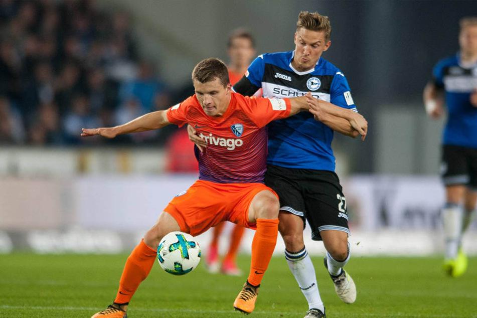 Gegen den VfL Bochum machte Kerschbaumer (r.) das Tor zum 2:0.