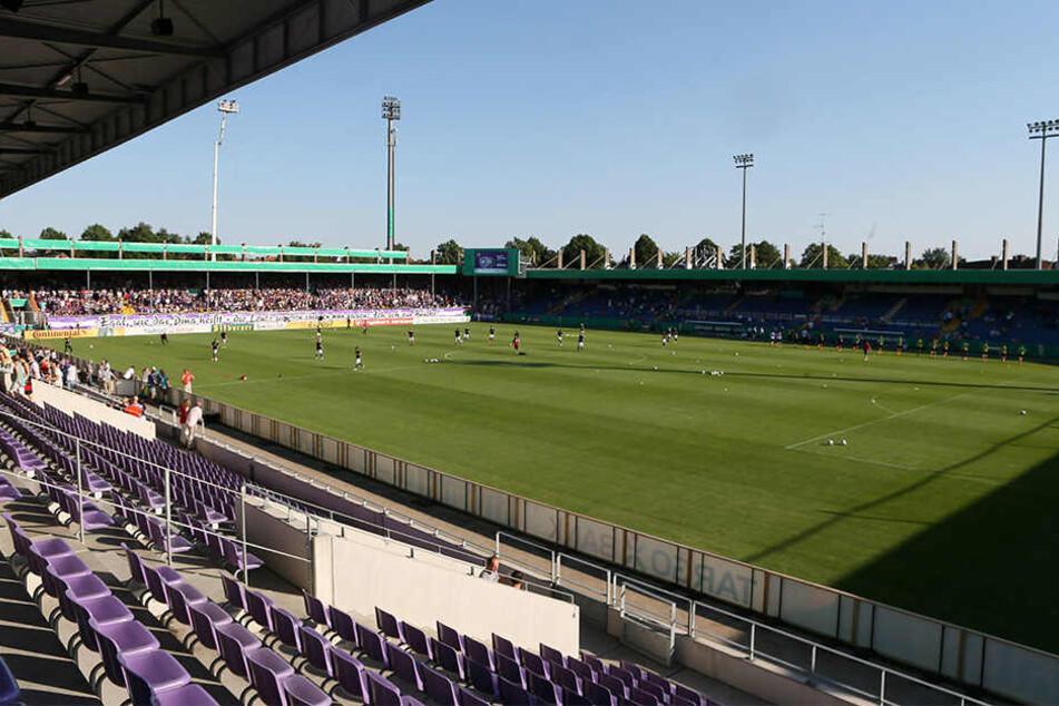 """Das """"Stadion an der Bremer Brücke"""" ist eigentlich Heimspielort von dem VfL Osnabrück."""