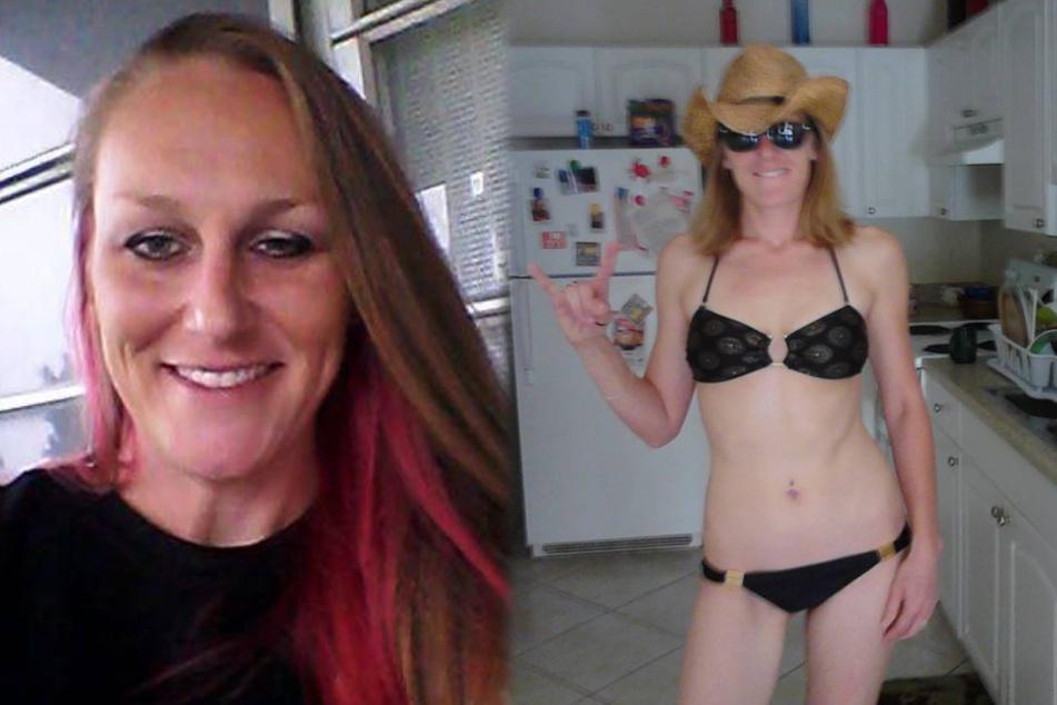 Theresa Ann Stanley (36) muss in Florida vor Gericht, weil sie einen Dildo geklaut und noch im Sex-Shop ausprobiert hat.