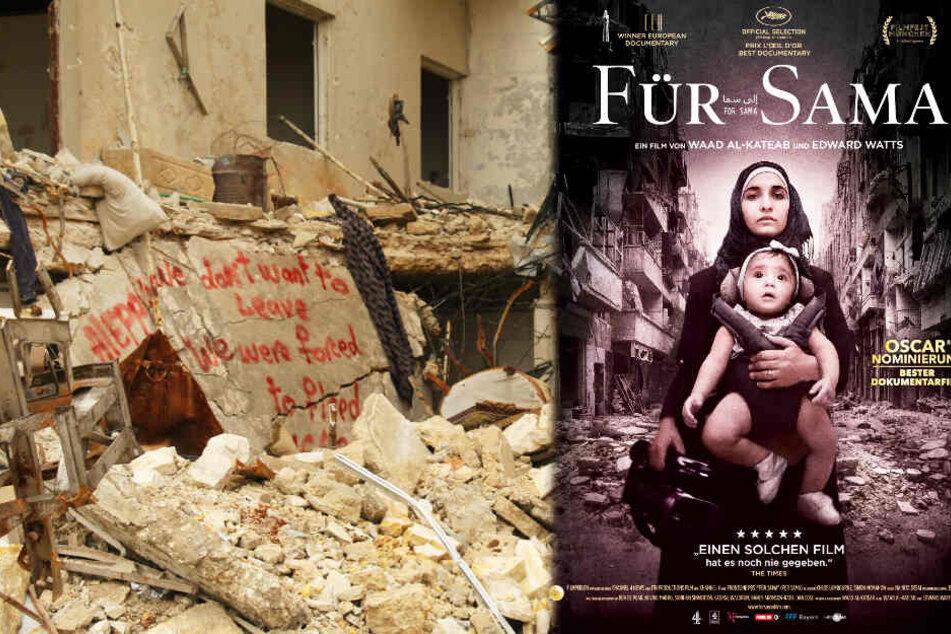 """""""Für Sama"""" kehrt ins Kino zurück: Erschütternde Doku zeigt die Kriegshölle von Aleppo"""