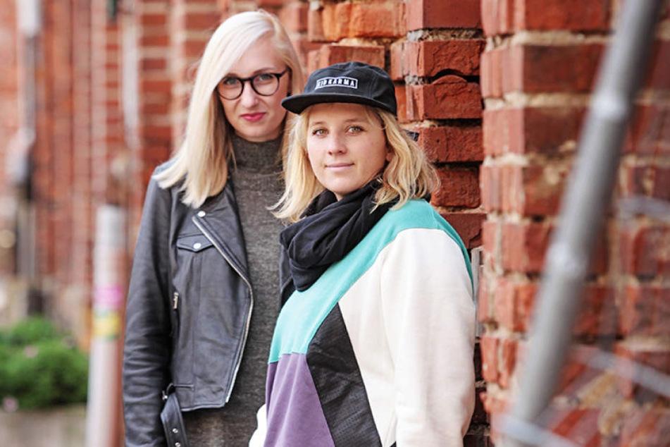 Franziska Müller (28, l.) und  Stephanie Schmidt (31) geben auf ihrem Blog Insider-Tipps rund um Leipzig.