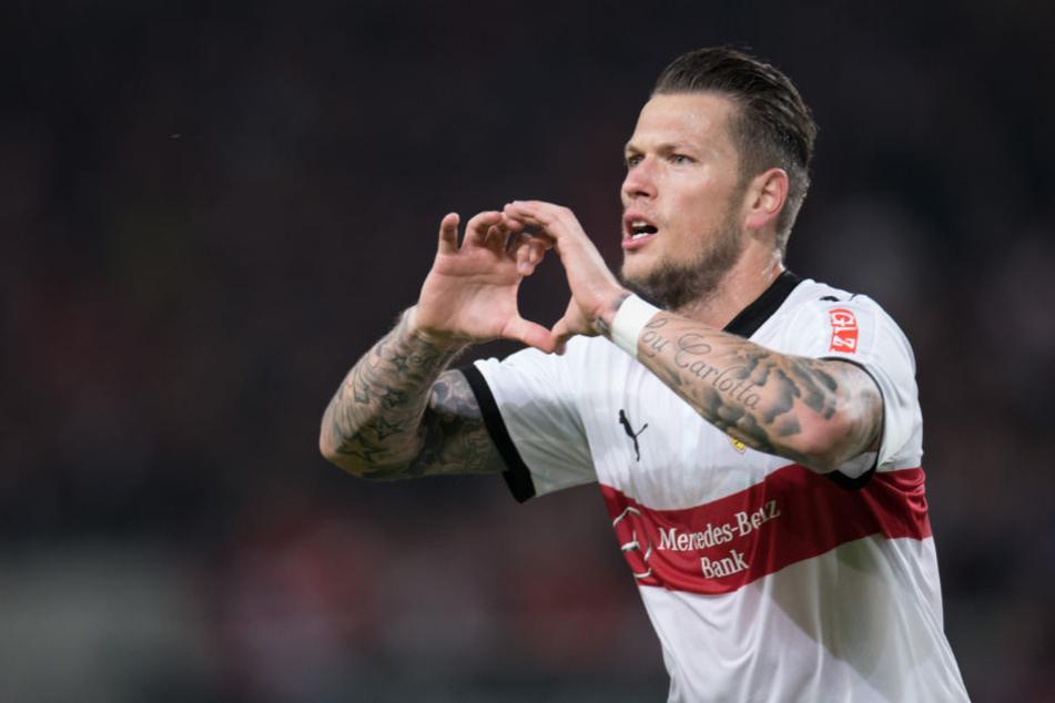 Im Spiel gegen den SC Freiburg konnte Daniel Ginczek sein 1:0 bejubeln. Wird er auch wieder gegen den HSV Hamburg treffen?
