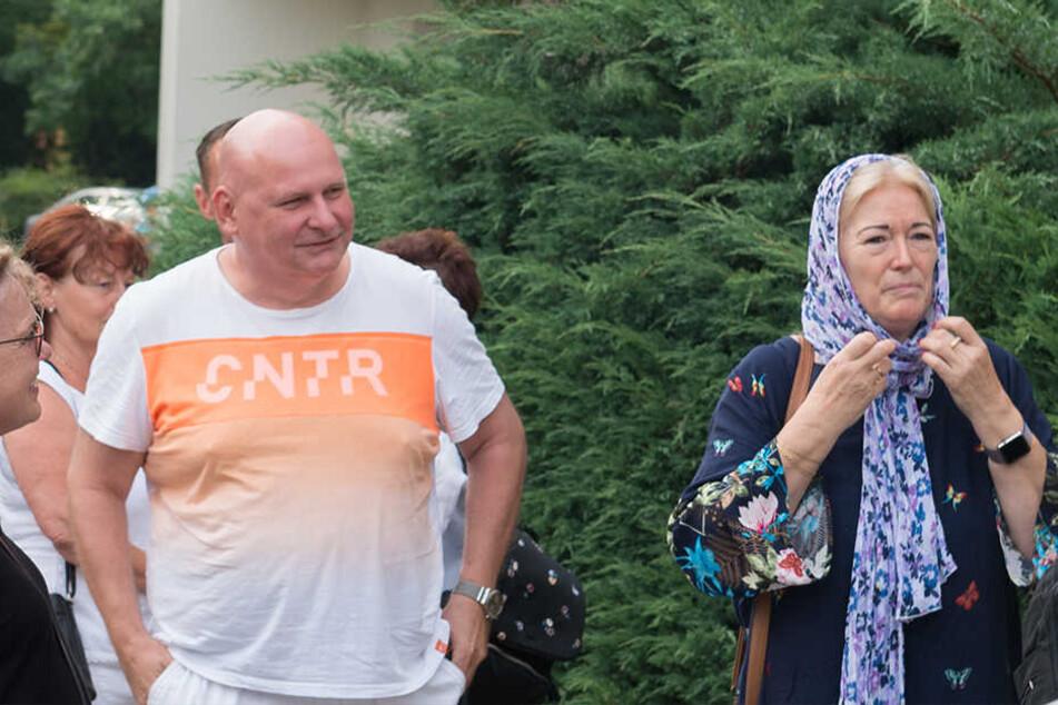 2018 protestierte Barbara Lässig (62) in Dresden gegen einen Volkshochschulkurs zu islamischer Kleidung.