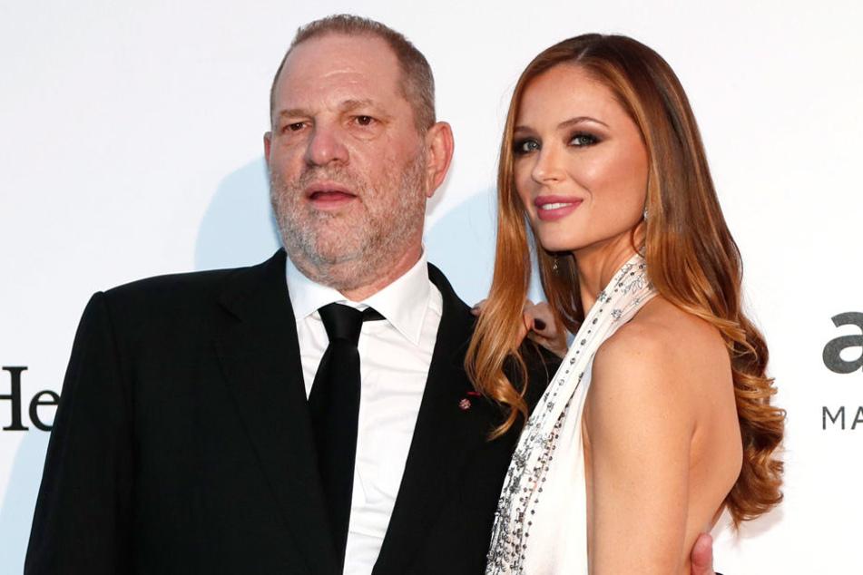 Ein Bild aus besseren Tagen: Georgina Chapman mit ihrem Gatten Harvey Weinstein.