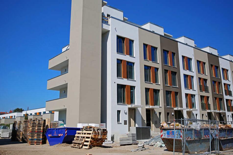 Besonders der Bau hochwertiger Wohnungen sorgt für Aufträge. Aber auch der  Sozialwohnungsbau soll bald wieder anziehen.