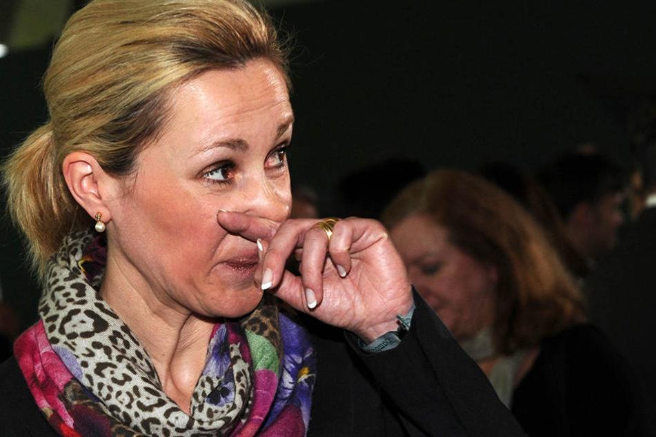 Trotz ordentlich Promille im Blut: Ex-First-Lady Bettina Wulff fuhr ihr Auto selbst.