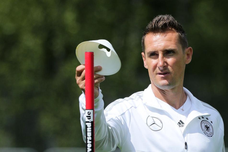 Unter Joachim Löw war er Assistent bei der WM 2018 in Russland: Miroslav Klose.
