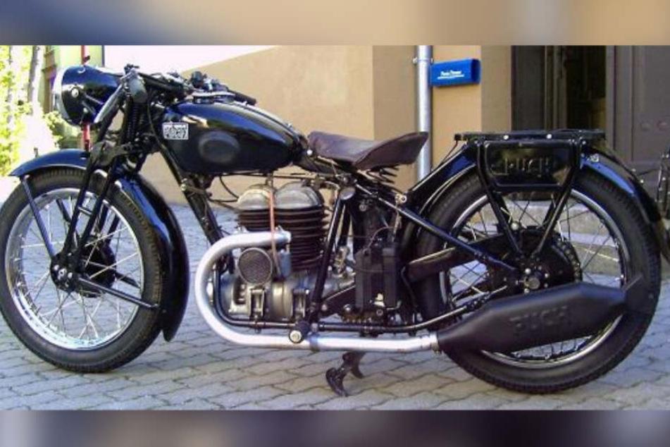 Das in Treuen geklaute Oldtimer-Motorrad ist wieder da!