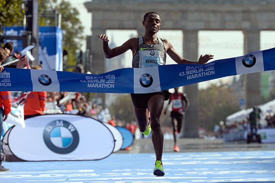 Berlin Marathon Weltrekord