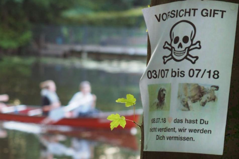 In Alsterdorf wurden diese Warnhinweise aufgehängt.
