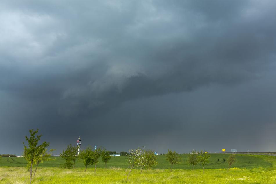 Schwere Unwetter wüteten am Samstagnachmittag in der Gegend um Weißenfels. Betroffen war vor allem Dehlitz.