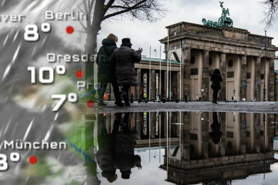 Wetter in Berlin: Es bleibt nass!