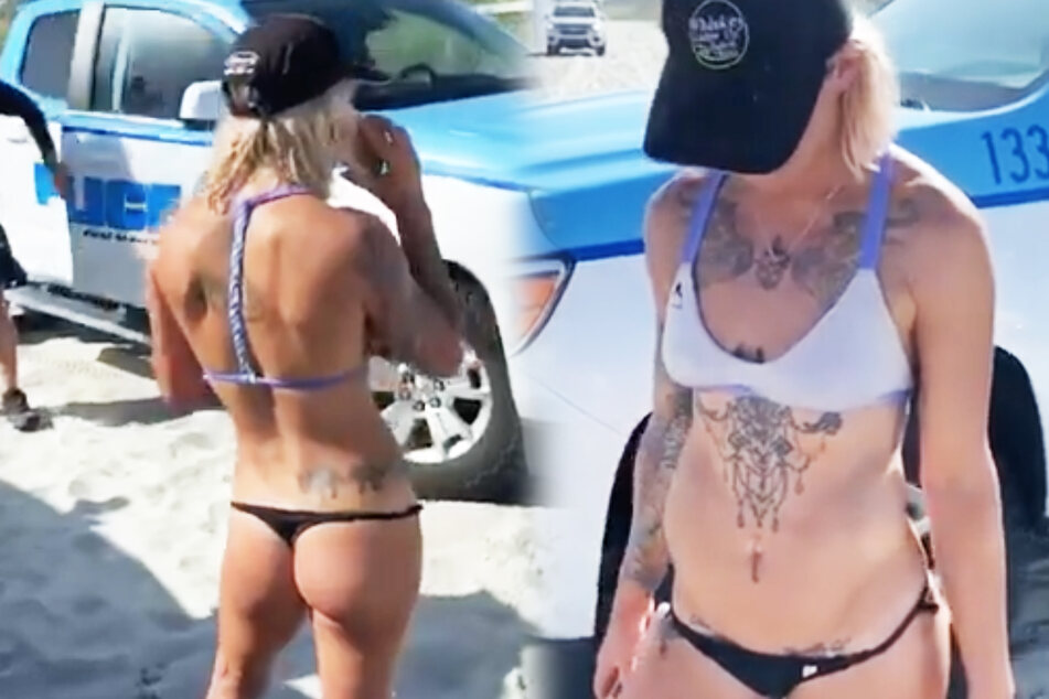 Einfach verrückt: Frau wird wegen ihres Bikinis festgehalten!