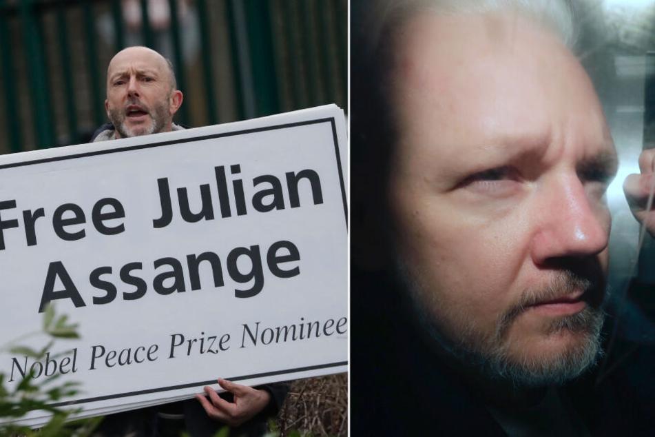 WikiLeaks-Gründer Julian Assange deckte Kriegsverbrechen der USA auf: Jetzt steht er vor Gericht