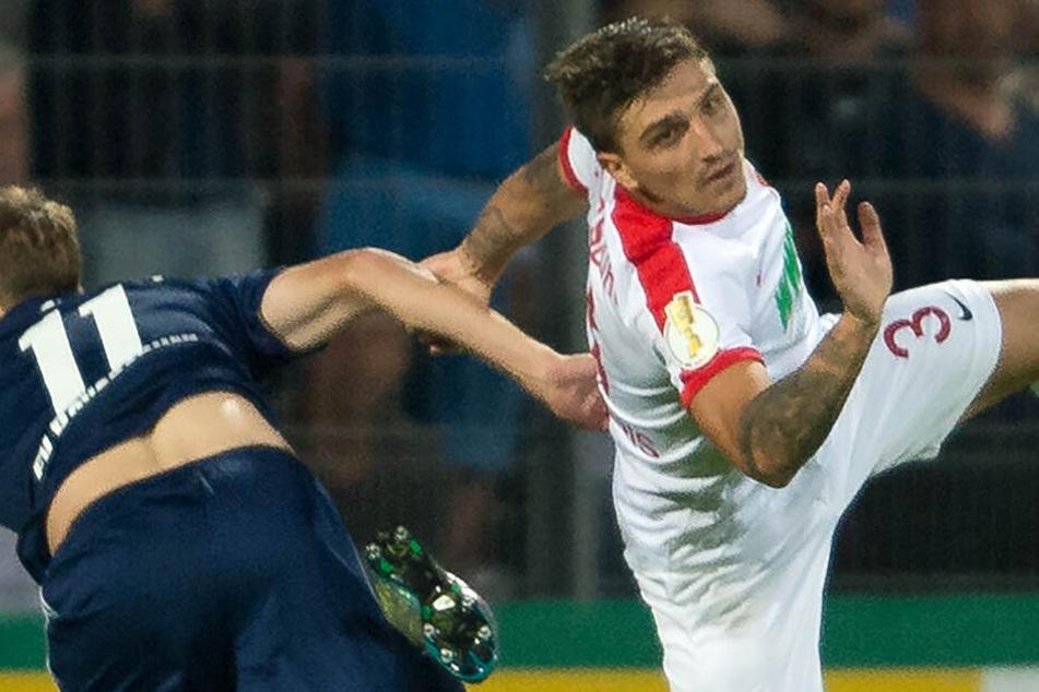 Der neue Nico Schulz bei der TSG Hoffenheim: Konstantinos Stafylidis kommt vom FC Augsburg.