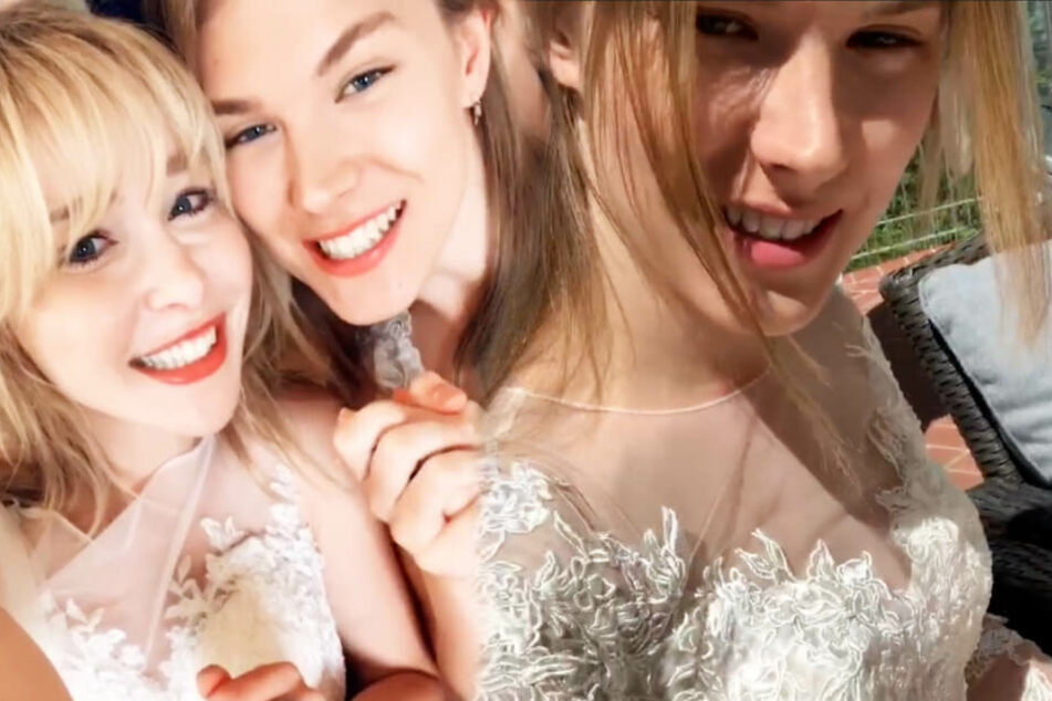 GNTM-Tatjana in weißem Traum gesichtet: Spontan-Hochzeit in Österreich?