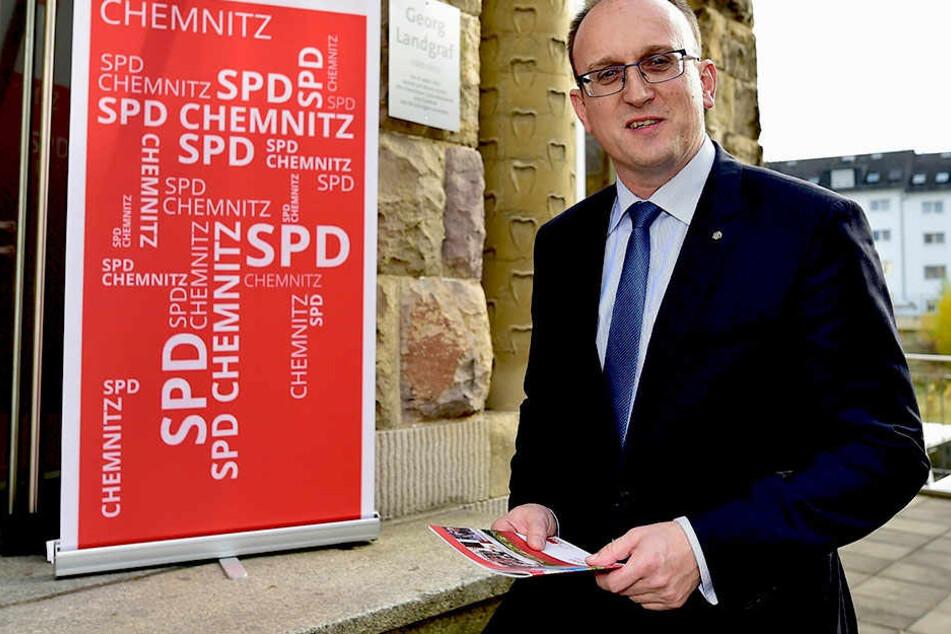 Jörg Vieweg (46, SPD) wünscht sich Verbesserungen im Chemnitzer  Petitionswesen.