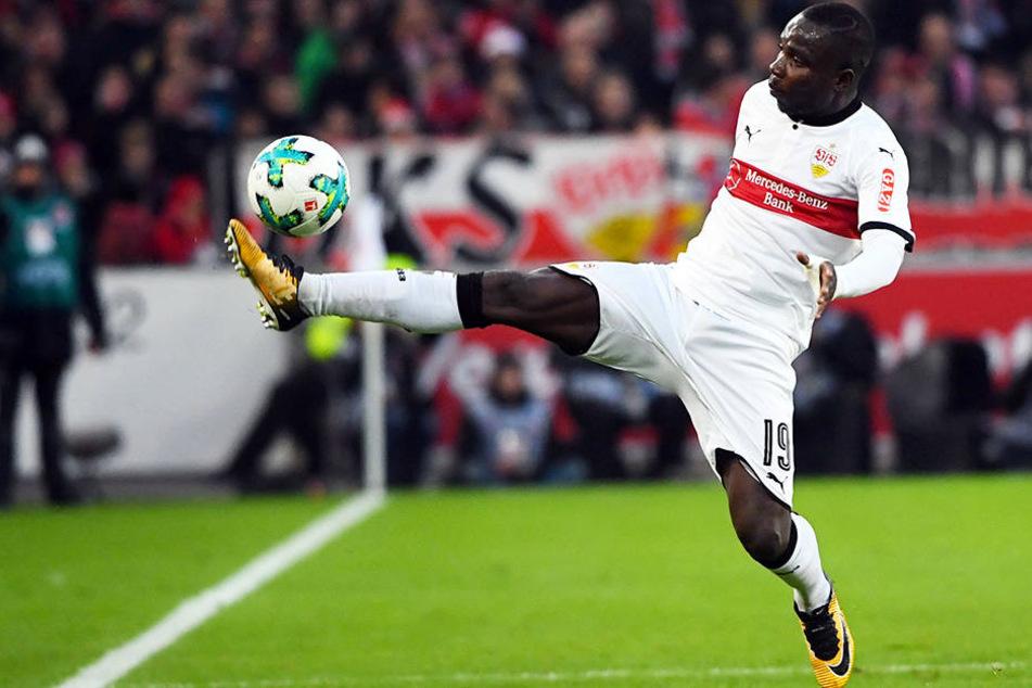 Traf zum 1:0 für den VfB Stuttgart: Chadrac Akolo.