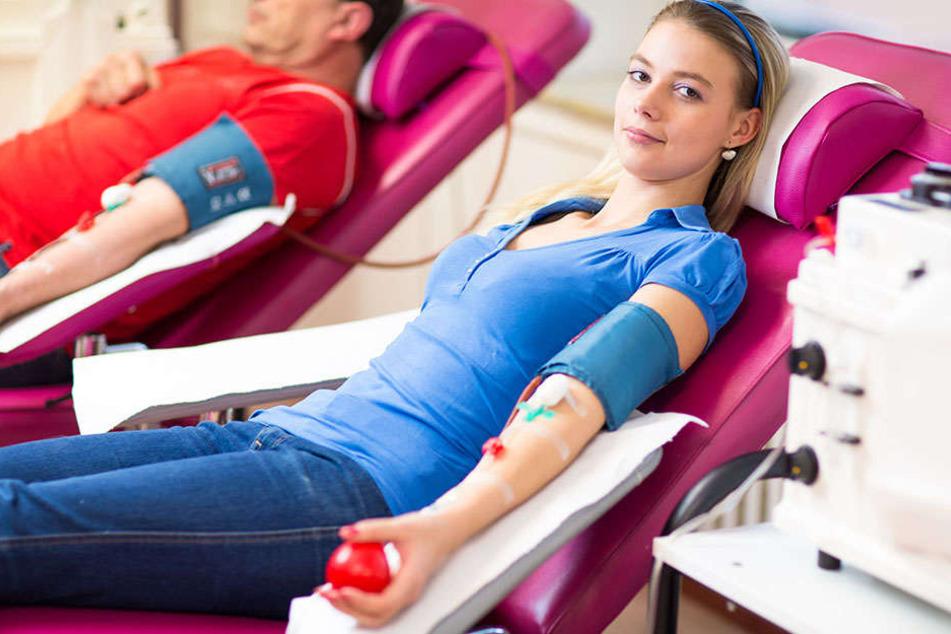 Der DRK-Blutspendedienst Nord-Ost bittet um Blutspenden.