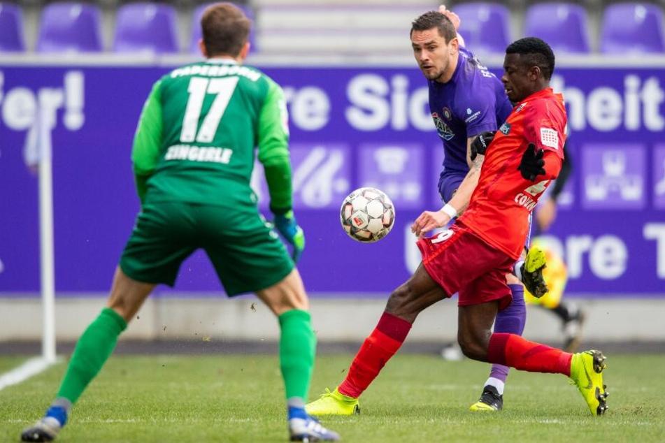 Zuletzt zeigte SCP-Keeper Leopold Zingerle immer wieder starke Leistungen.