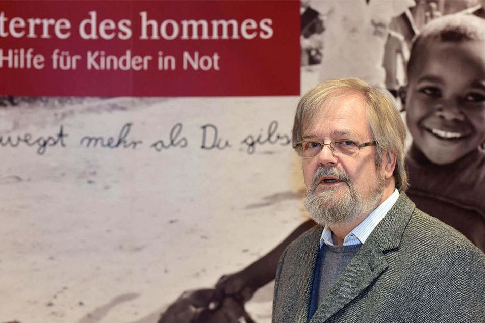 Lutz Beisel ist Gründer von terre des hommes.
