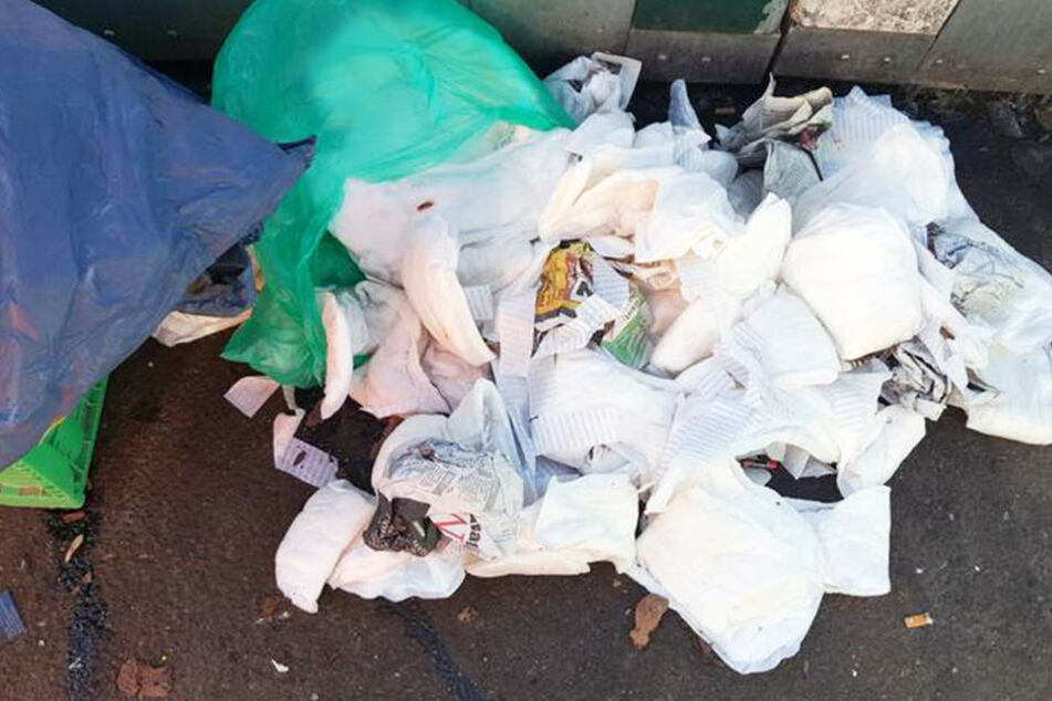 Erst vor wenigen Tagen fanden die Müllentsorger eine Tüte mit Erwachsenenwindeln.
