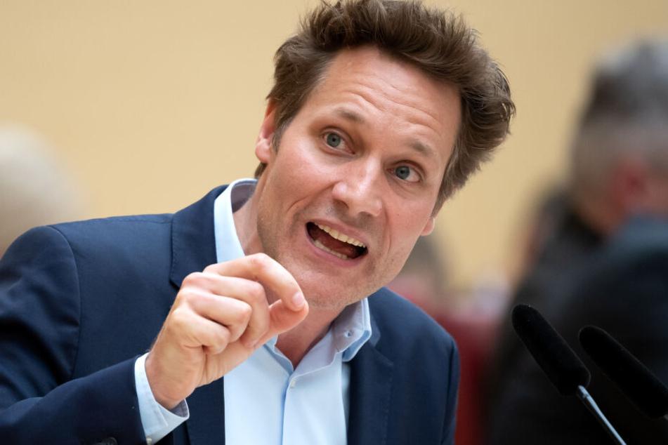Ludwig Hartmann, Fraktionsvorsitzender von Bündnis 90/Die Grünen im bayerischen Landtag.
