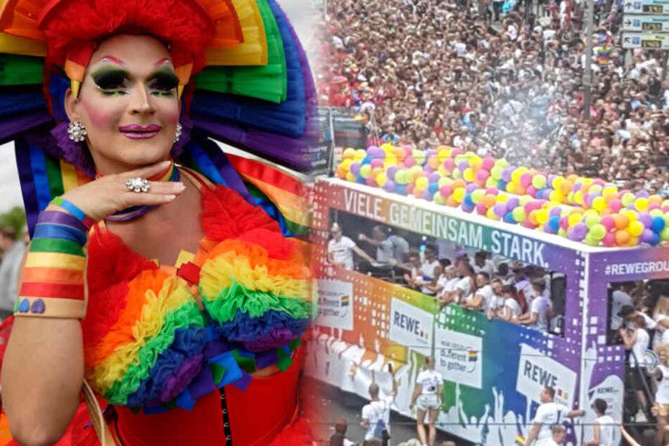 So groß wie nie: CSD-Parade in Köln bricht Rekord!