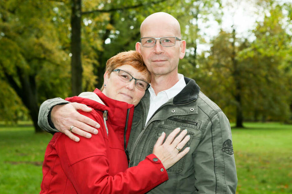 Gemeinsam durch dick und dünn: Simone (53) und Andreas Freude (54) haben schon bewegende Momente durchlebt.