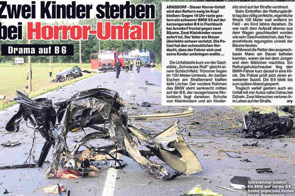 So berichtete MOPO von dem schlimmen Unfall.