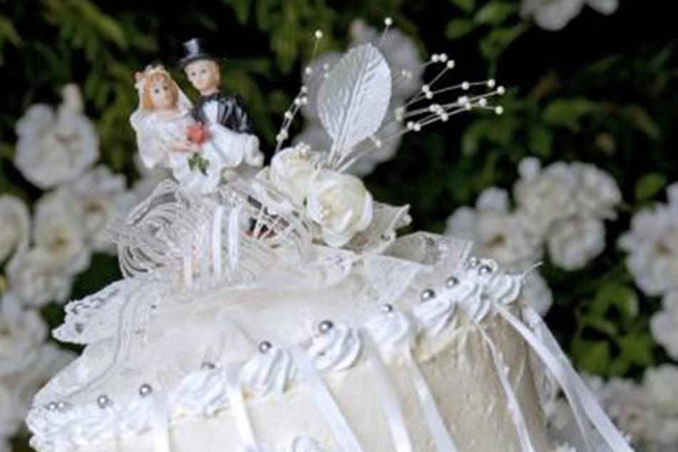 Bei dem Fest wurde einiges geboten. Doch das Brautpaar ist erst drei Jahre alt.