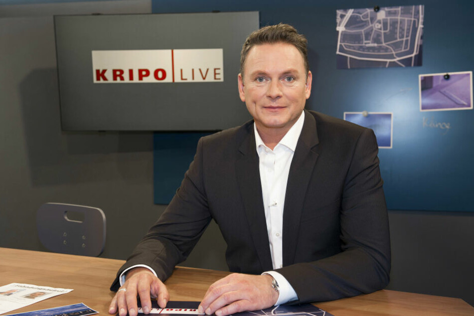 "Stellte den Fall bei ""Kripo live"" vor: MDR-Moderator Axel Bulthaupt (52)."
