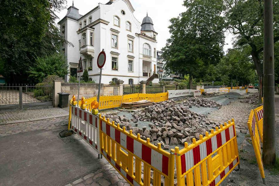 Bei der Sanierung der Jägerstraße darf kein Asphalt mehr verwendet werden, das vorhandene Pflaster muss wieder eingesetzt werden.