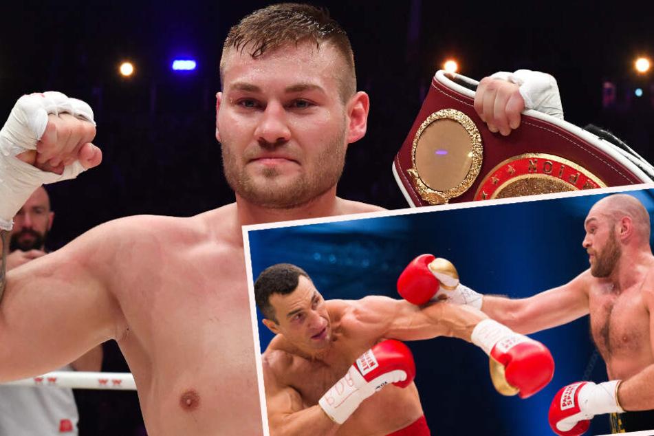 Kampf des Lebens! Hallenser boxt live im MDR gegen Klitschko-Bezwinger Tyson Fury